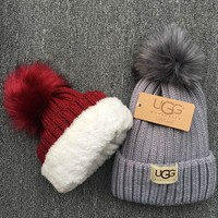 UGG Knit And Pom Hat Cap-3