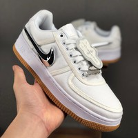 Travis Scott x Nike Air Force 1 Low ¡°Sail¡±