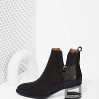 Jeffrey Campbell Boone Bootie - Black Leather