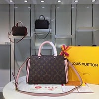 LV Louis Vuitton WOMEN'S MONOGRAM CANVAS Normandy HANDBAG SHOULDER BAG