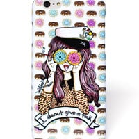 Donut Girl iPhone 6/6S Case