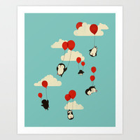 We Can Fly! Art Print by Jay Fleck