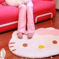 Free Shipping  Hot Selling hello kitty carpet mats HELLO KITTY bedroom carpet door mats 1 piece /Lot