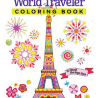World Traveler Coloring Book: 30 World Heritage Sites