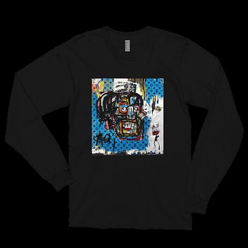 """Limited """"LV x JMB"""" Skull Concept L/S Tee (Available in Black & White)"""