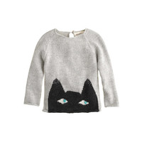 Baby Oeuf® peeking cat sweater - sweaters - shop_by_category_mobile - J.Crew