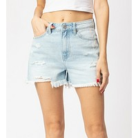 Riot Rally Denim Shorts