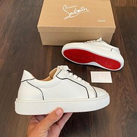 christian louboutin 2021 men and women Casual Breathable Stylish Sneakers