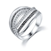 New Arrival Shiny Gift Jewelry Stylish Korean Hot Sale Vintage Strong Character Romantic Accessory Ring [6057447169]
