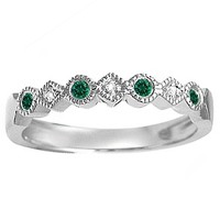 Jared - Color Stone Stackable Ring