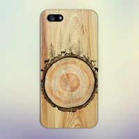 Stained Wood Animals x Tree Trunk Phone Case for iPhone 6 6 Plus iPhone 5 5s 5c 4 4s Samsung Galaxy s6 s5 s4 & s3 and Note 5 4 3 2