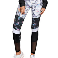 Ultimate High-Waist Legging with Mesh - PINK - Victoria's Secret