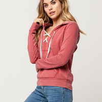 FULL TILT Lace Up Womens Hoodie | Sweatshirts + Hoodies