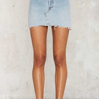After Party by Nasty Gal Drifter Denim Skirt