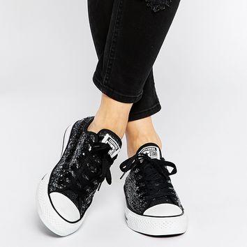Converse Sequin All Star Trainers