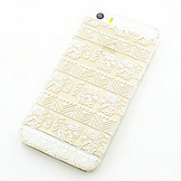 Plastic Case Cover for iPhone 5 5S 5C 6 6Plus (Pick One) Henna Lotus Floral Elephant hindu ganesh indian ohm