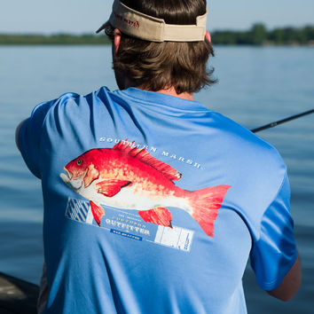 Southern Marsh FieldTec Outfitter Collection - Snapper - Short Sleeve