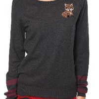 Collegiate Fox Sweater
