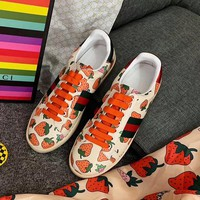 Gucci Strawberry Gym shoes