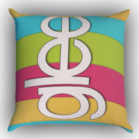 Glee X0635 Zippered Pillows  Covers 16x16, 18x18, 20x20 Inches