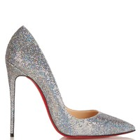 CHRISTIAN LOUBOUTIN  So Kate 120mm glitter pumps