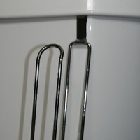 Over the Tank Toilet Paper Roll Holder :)Petite hook fits both sides :)No gap close any tank shape