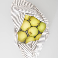 Re-useable Produce Bag - Gray Ticking