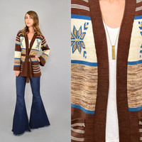 70's Space Dye WRAP Cardigan
