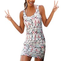 Women's Casual Bohemian Dress