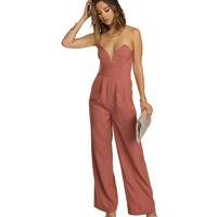 Blush Jump on it Jumpsuit