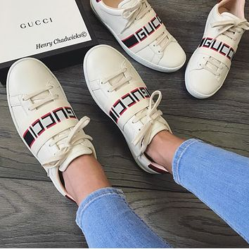 :Gucci:Trending Fashion Casual Sports Shoes