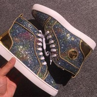 ONETOW Cl Christian Louboutin Style #2289 Sneakers Fashion Shoes