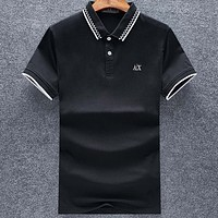 Armani Casual Simple Men Short Sleeve  Shirt Top Tee