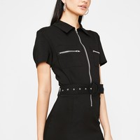 Hott N' Ready Utility Dress