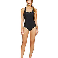 Nike Epic Trainer Tank One-Piece Swimsuit - Black