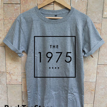 The 1975 Band Indy Music Sport Gray T Shirt Tee Unisex Size Men Women - TH1
