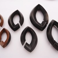 Diablo Organics Ebony Wood Diamond Weights (00 gauge and up)