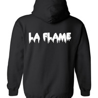 Travis Scott inspired LA FLAME Hoodie by DopePremium