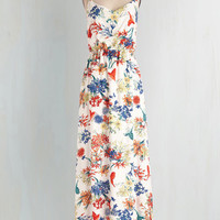 Long Spaghetti Straps Maxi Flying and Dandy Dress by ModCloth