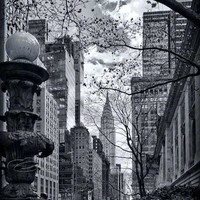 New York City Architecture Photo Bl.. on Luulla