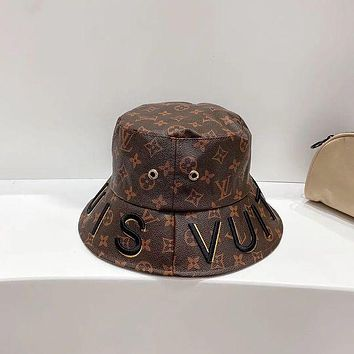 LV Louis Vuitton Bucket hat