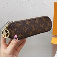 LV Louis Vuitton new letter printing pattern pencil case cosmetic brush bag #1