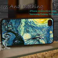 Starry Nightmare Before Christmas iPhone case, iPhone 4/4S, iPhone 5/5S, iPhone 5c, Galaxy S3 i9300, S4 i9500, Design By Custom And Clothing