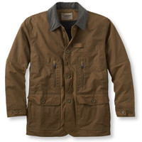 Upland Hunter Field Coat, Waxed Cotton: Outerwear | Free Shipping at L.L.Bean