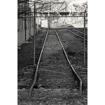 Fence Crossing : An Abandoned to Grace Art Print