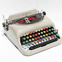 RARE Remington Rand 5 Antique Typewriter with by BMTvintage