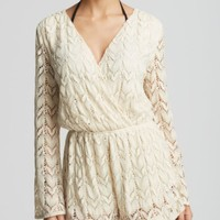 Surf Gypsy Crochet Romper Swim Cover Up | Bloomingdales's