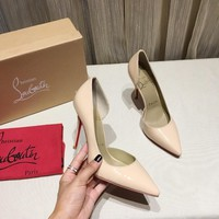 KUYOU Christian Louboutin High Heels women red Heels CL 09514