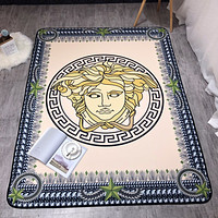 Versace Fashion Simple Round Carpet Mat