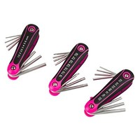 The Original Pink Box PB3HTS Folding Hex and Torx, Pink, 3-Piece